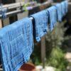 藍のおだい布巾