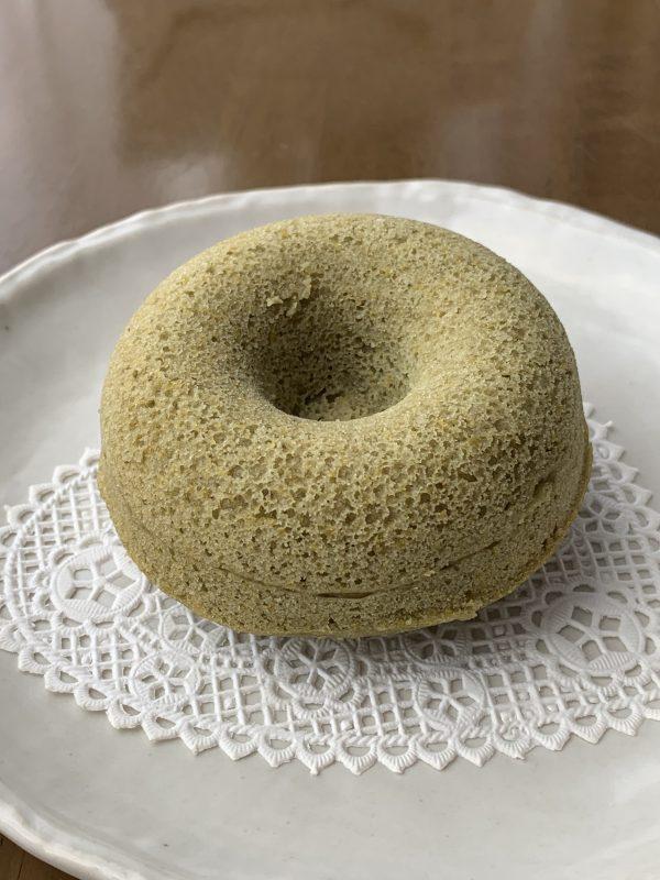 米粉の甘酒ドーナツ:よもぎ